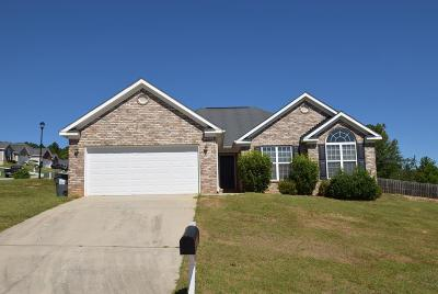 Grovetown Single Family Home For Sale: 579 Lory Lane