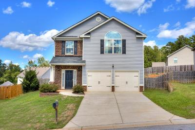 Grovetown Single Family Home For Sale: 346 Congling Circle