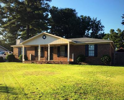 Richmond County Single Family Home For Sale: 2915 Gebhardt Drive