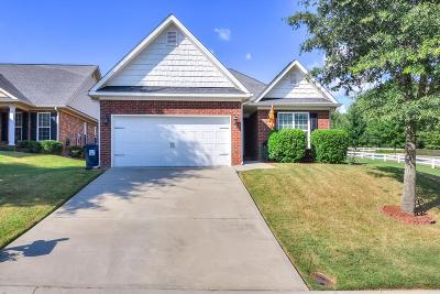 Grovetown Single Family Home For Sale: 1053 Grove Landing Lane