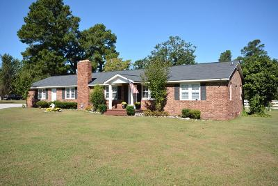 Dearing Single Family Home For Sale: 4885 Iron Hill Road