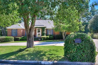 Augusta Single Family Home For Sale: 2718 Boars Head Road