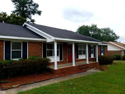 Augusta GA Single Family Home For Sale: $138,000