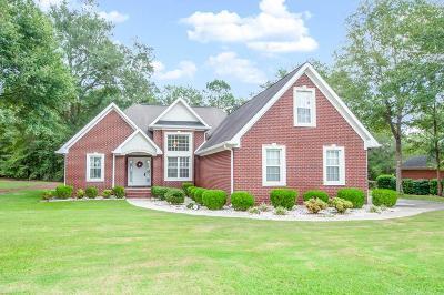 North Augusta Single Family Home For Sale: 5045 Lake Catawba Drive