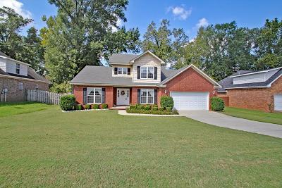Evans Single Family Home For Sale: 4437 Sapelo Drive