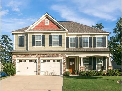 Evans Single Family Home For Sale: 4355 Satolah Ridge