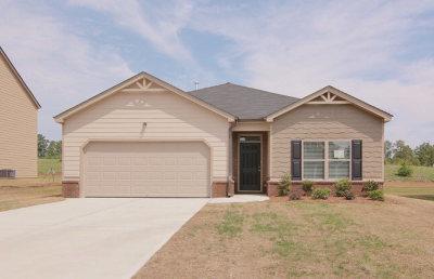 Augusta GA Single Family Home For Sale: $186,600