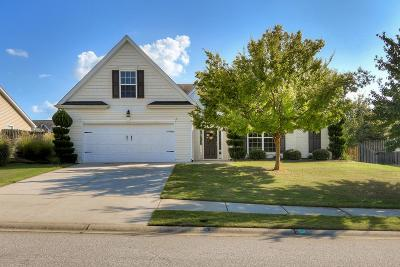 Grovetown Single Family Home For Sale: 6022 Great Glen Drive