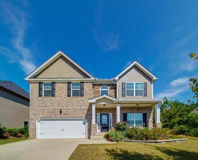 Evans Single Family Home For Sale: 358 Bellhaven Drive
