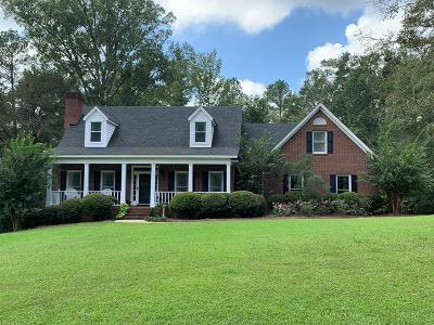 North Augusta Single Family Home For Sale: 30 Cannon Mill Court