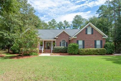North Augusta Single Family Home For Sale: 108 Oakleaf Drive