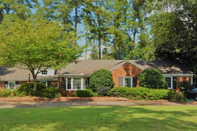Augusta Single Family Home For Sale: 3043 Lake Forest Drive