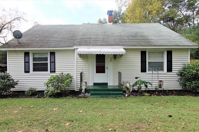 Richmond County Single Family Home For Sale: 168 Murrow Street