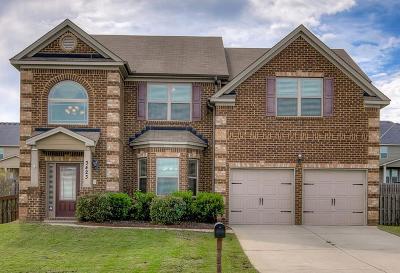 Augusta Single Family Home For Sale: 3423 Covington Court