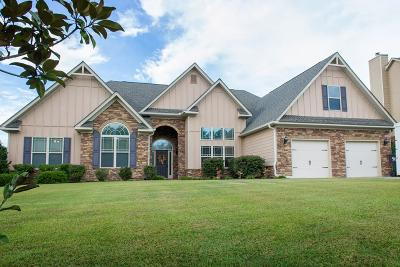 Grovetown Single Family Home For Sale: 5011 Canterbury Farms Pkwy