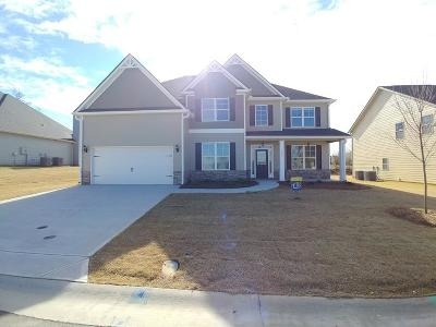 Grovetown Single Family Home For Sale: 1534 Highwoods Pass