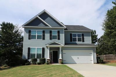 Edgefield County Single Family Home For Sale: 334 Foxchase Circle