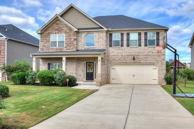 Evans Single Family Home For Sale: 767 Bridgewater Lane