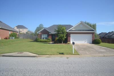 Grovetown Single Family Home For Sale: 219 Rainbow Falls Drive