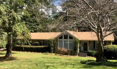 North Augusta Single Family Home For Sale: 2009 White Pine Drive