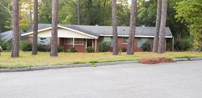 Augusta Single Family Home For Sale: 3353 Oak Ridge Drive