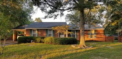 Augusta GA Single Family Home For Sale: $129,900