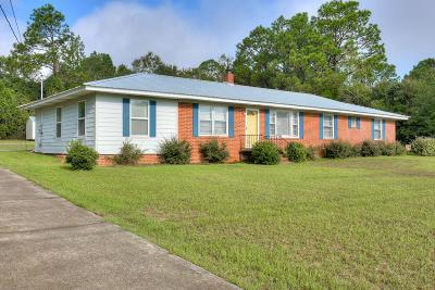 North Augusta Single Family Home For Sale: 207 Hillside Drive