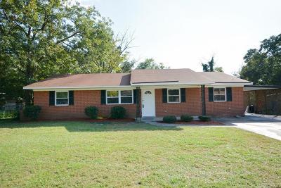 Richmond County Single Family Home For Sale: 3322 Davant Road