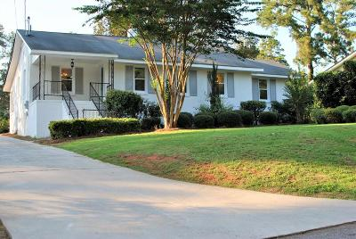 Augusta Single Family Home For Sale: 908 Blue Bird Road