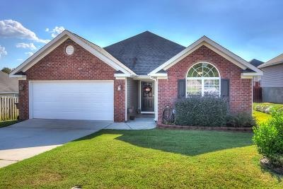 Grovetown Single Family Home For Sale: 623 Lory Lane