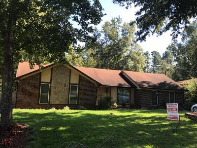 Richmond County Single Family Home For Sale: 1104 Brookwood Drive