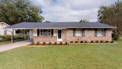 Grovetown Single Family Home For Sale: 217 Hayne Drive