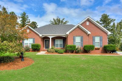 Grovetown Single Family Home For Sale: 500 Capstone Way