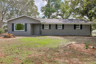 Augusta Single Family Home For Sale: 3636 Meadowlark Road