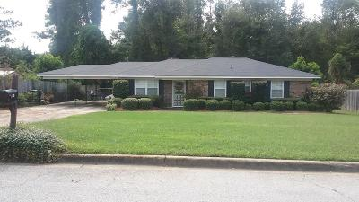 Augusta Single Family Home For Sale: 2904 Cumberland Drive