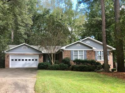 North Augusta Single Family Home For Sale: 16 Foxhil Drive