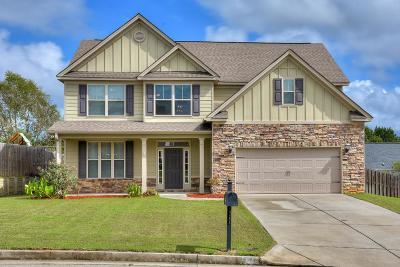 Evans Single Family Home For Sale: 1265 Berkley Hills Pass
