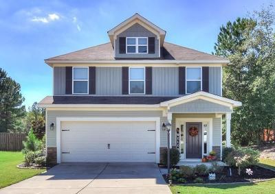 Grovetown Single Family Home For Sale: 506 Sebastian Drive