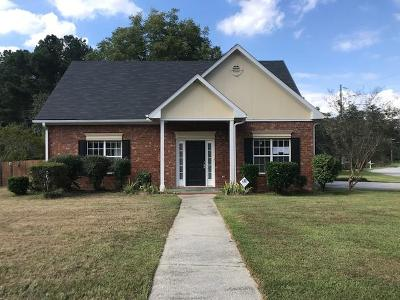 Richmond County Single Family Home For Sale: 3201 Peninsula Drive