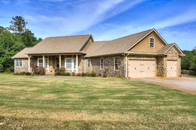 Appling Single Family Home For Sale: 6645 Eubank Drive