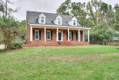 North Augusta Single Family Home For Sale: 10 Flintlock Drive