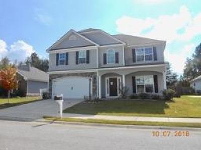 Grovetown GA Single Family Home For Sale: $190,000