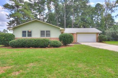 Augusta GA Single Family Home For Sale: $175,000
