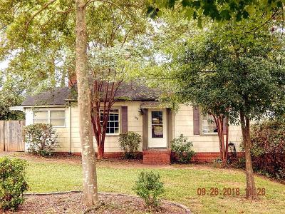 Augusta GA Single Family Home For Sale: $114,900