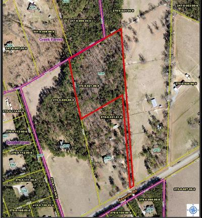 Hephzibah Residential Lots & Land For Sale: 2939 Keysville Road