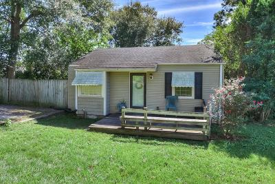 North Augusta Single Family Home For Sale: 1015 James Street