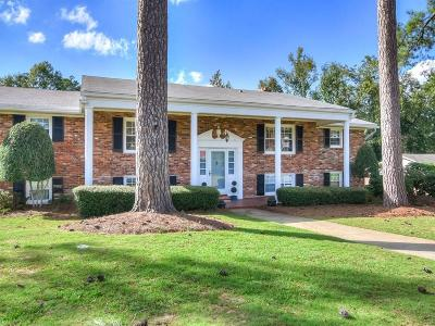 Augusta Single Family Home For Sale: 1101 River Ridge Drive