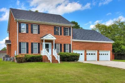 Augusta GA Single Family Home For Sale: $275,000