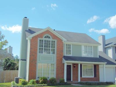 Evans Single Family Home For Sale: 607 Blue Ridge Crossing