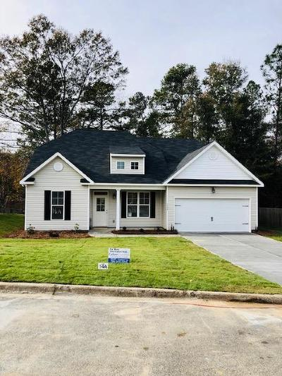 North Augusta Single Family Home For Sale: 1928 Seaborn Drive